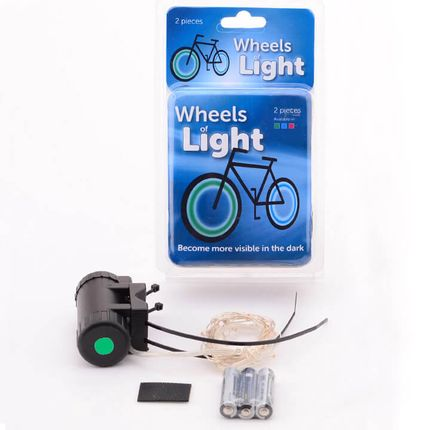 spaaklichten Wheels Light groen