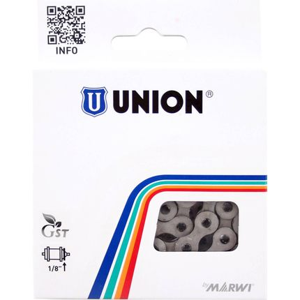 """Ketting Union 1/2"""" x 1/8"""" anti roest - 112 links"""