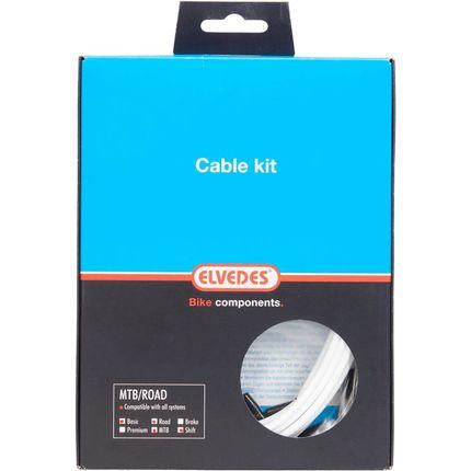 Elvedes atb / race kabelset schakel basic �4,2mm w