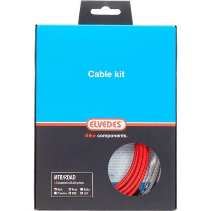 Elvedes atb / race kabelset schakel basic �4,2mm r