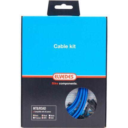 Elvedes atb / race kabelset schakel basic �4,2mm b