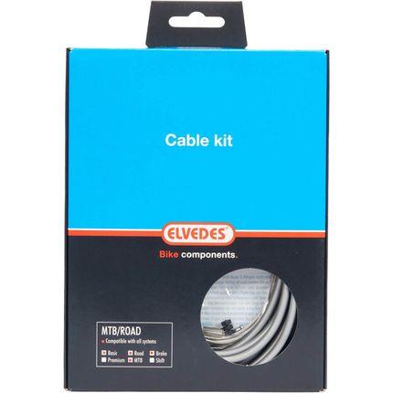 Elvedes remkabel ATB/RACE zilver