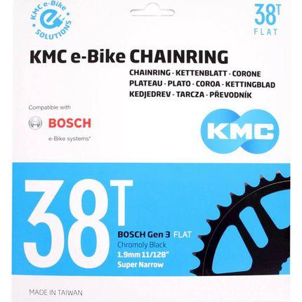 KMC achterwielblad 38T Bosch 3