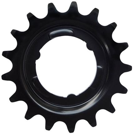 Kmc tandwiel achter shimano 18t cro-mo staal zwart