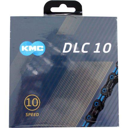 Kmc ketting 10-speed dlc 10 116 links zwart/blauw