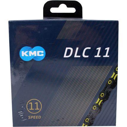 KMC achterwielDLC11 black/yellow