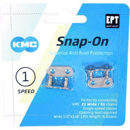 KMC snap on schakel 1/8 EPT krt