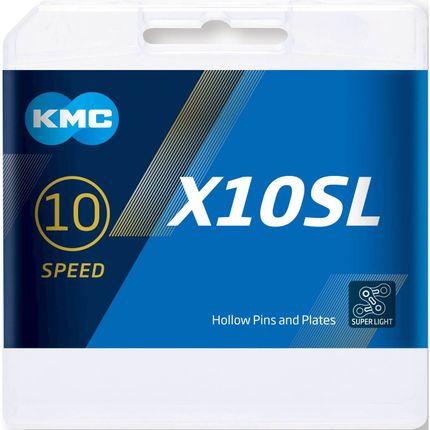 KMC achterwielX10SL silver