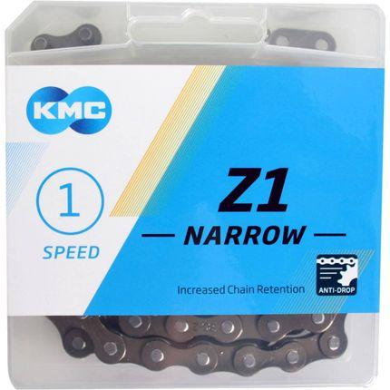 KMC achterwielZ1 3/32 narrow brown