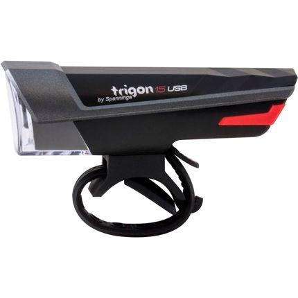 Spann kopl Trigon 15 lux zwart usb