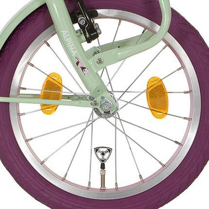 Alpina voorwiel16 YS 7328 roze