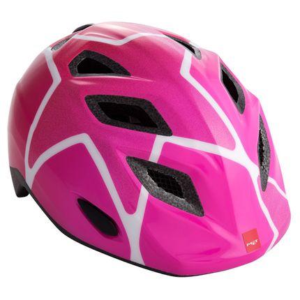 MET helm Genio pink stars 52-57 roze