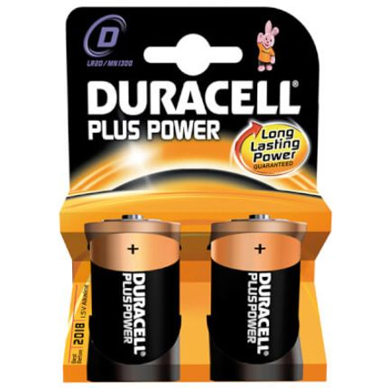 Duracell batt Plus Power LR20 D