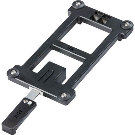 MIK Adapter Plate adapterplaat - zwart