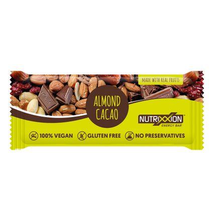 Nutrix reep amandel cacao 40g