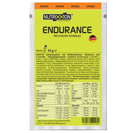 Nutrix sportdrank Orange 35g