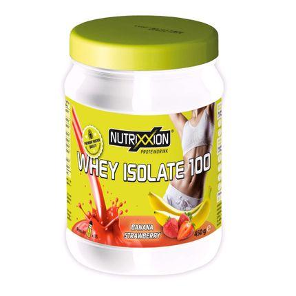 Nutrix sportdrank Whey aardbei-banaan 450g
