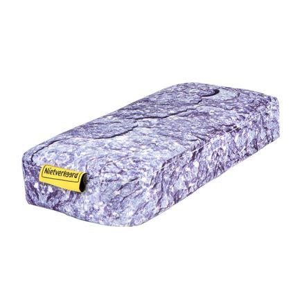 NV zitkussen met steen print