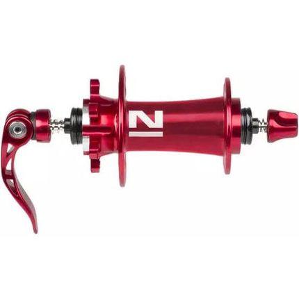 Novatec naaf Superlight MTB Disc 4:1 rood geanod