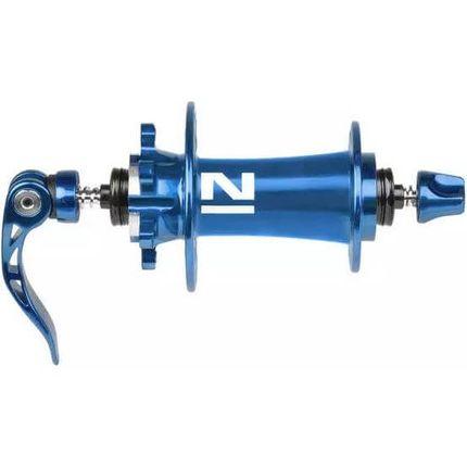 Novatec naaf Superlight MTB Disc 4:1 blauw geanod