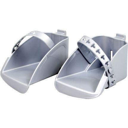 Polisport voetenbak set Bubbly zilver