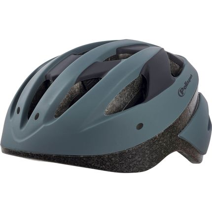Polisport helm Sport ride L donker grijs/zwart
