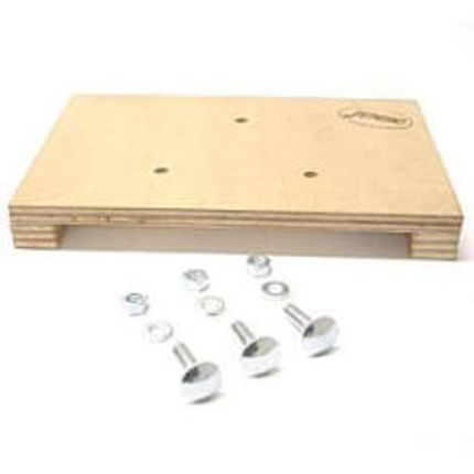 Jumbo plank m/schroeven