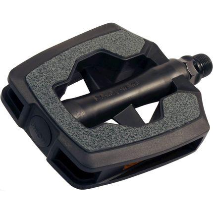 Pedaalset SP-880 kunststof huis SANDBLOCK® - zwart