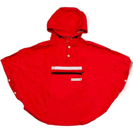 People's Poncho red kind S