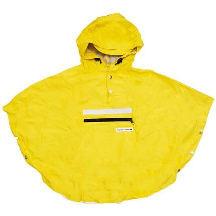 Peoples Poncho yellow kind M