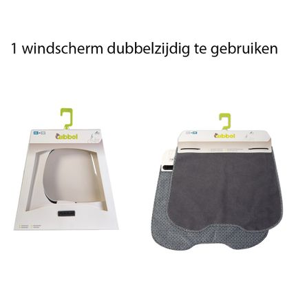 Qibbel windscherm Elements grs