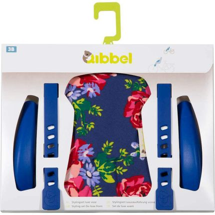 Qibbel stylingset luxe v Roses blauw