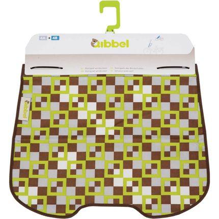 Qibbel windschermflap checked groen