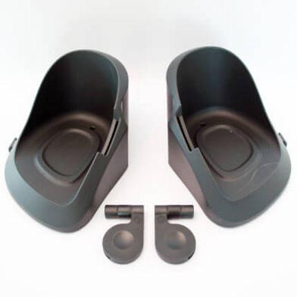 Qibbel voetenbakjes V of A cpl