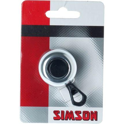 Simson bel Compact zilver