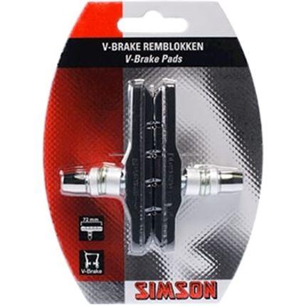 Simson remblok v-bruin 72mm (2)