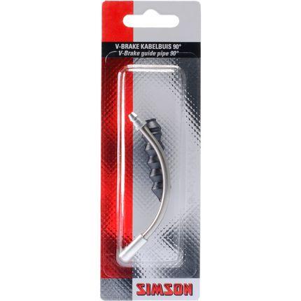 Simson v-bruin kabelbocht 90gr