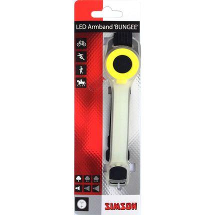 Simson refl armband Bungee led