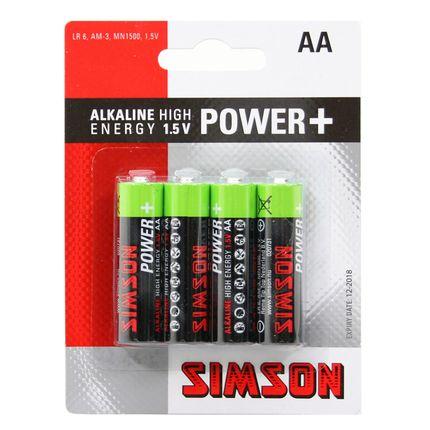 Simson batterijen Power + AA