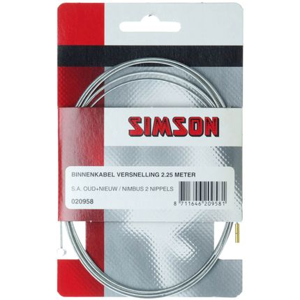 Simson bnkabel versn 2.25m