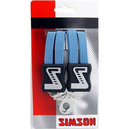 Simson snelbinder lang l blauw