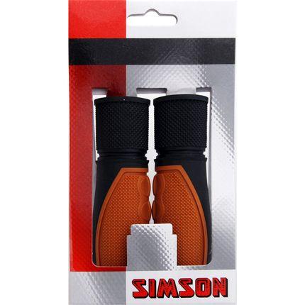 Simson handvat Lifestyle l br/zwart