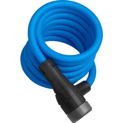 Abus spir kabelslot 5510K/180 blauw