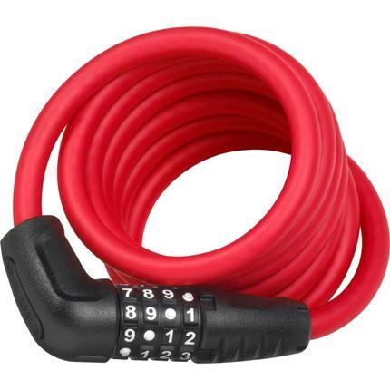 Abus cijfer kabelslot 5510C/180 rood