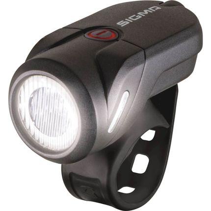 KOPLAMP SIGMA AURA 35 LED ACCU USB ZW