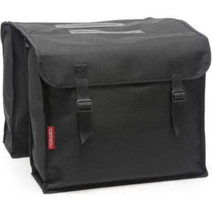 Cameo dubbele tas zwart