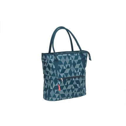 Cameo shopper tas triangle blue