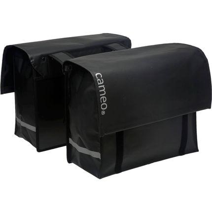 Dubbele tas NewLooxs Bisonyl 46 Liter - mat zwart