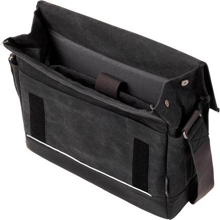 Basil messenger tas Urban Fold zwart