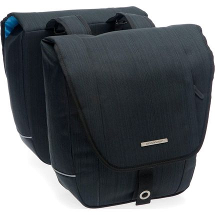 NL dubbele tas Avero zwart